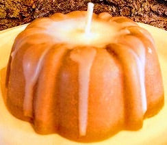 Small Bundt  Cake Candle - Mountain View Candle Works