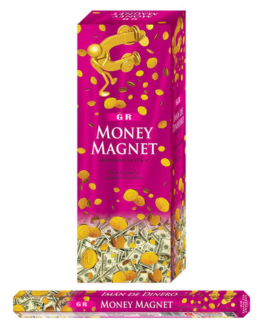 GR Incense Sticks Hexa Money Magnet - Mountain View Candle Works