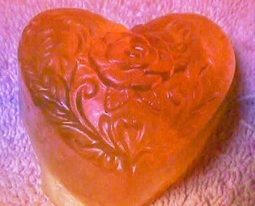 Elegant Heart Soap - Mountain View Candle Works