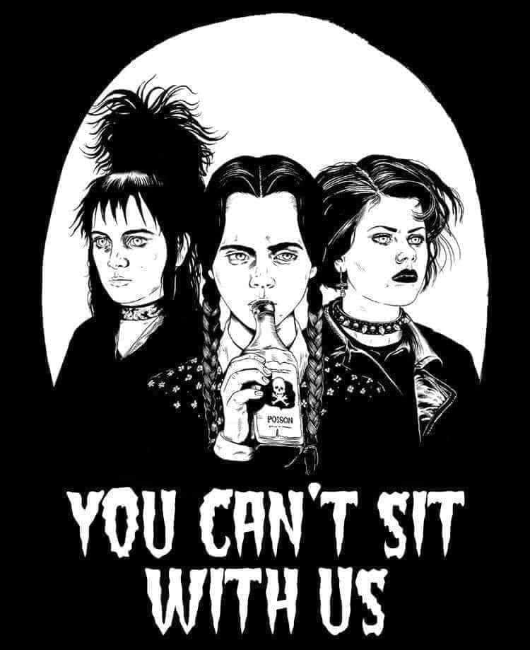You Can't Sit With us Decal