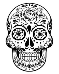 Day of dead Vinyl Decal