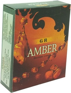 Amber Cone Incense - Mountain View Candle Works
