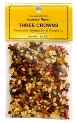 Three Crowns - Incense Resin - 3/4 ounce - Mountain View Candle Works