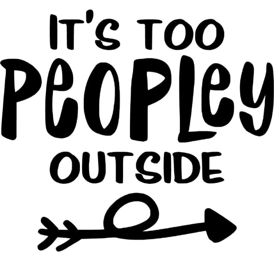 It's to Peopley outside