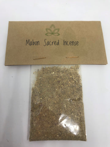 Mabon Sacred Incense - Mountain View Candle Works