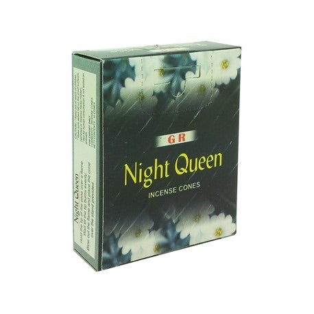 Night Queen Cone Incense - Mountain View Candle Works