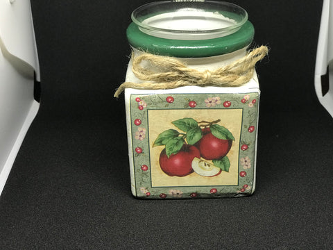 Apple Votive holder etc - Mountain View Candle Works