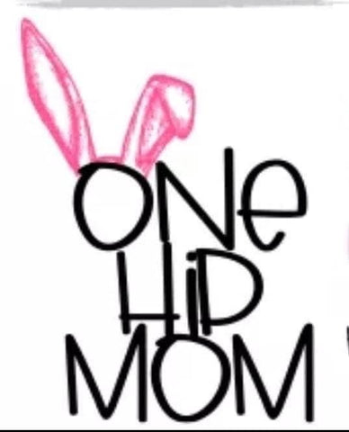 One Hip Mom Decal