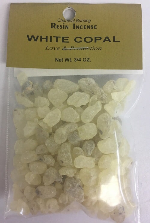 White Copal - Incense Resin - 3/4 OZ. - Mountain View Candle Works