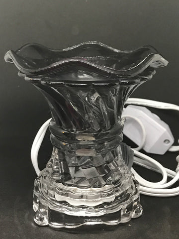 Black Fragrance Lamp - Mountain View Candle Works