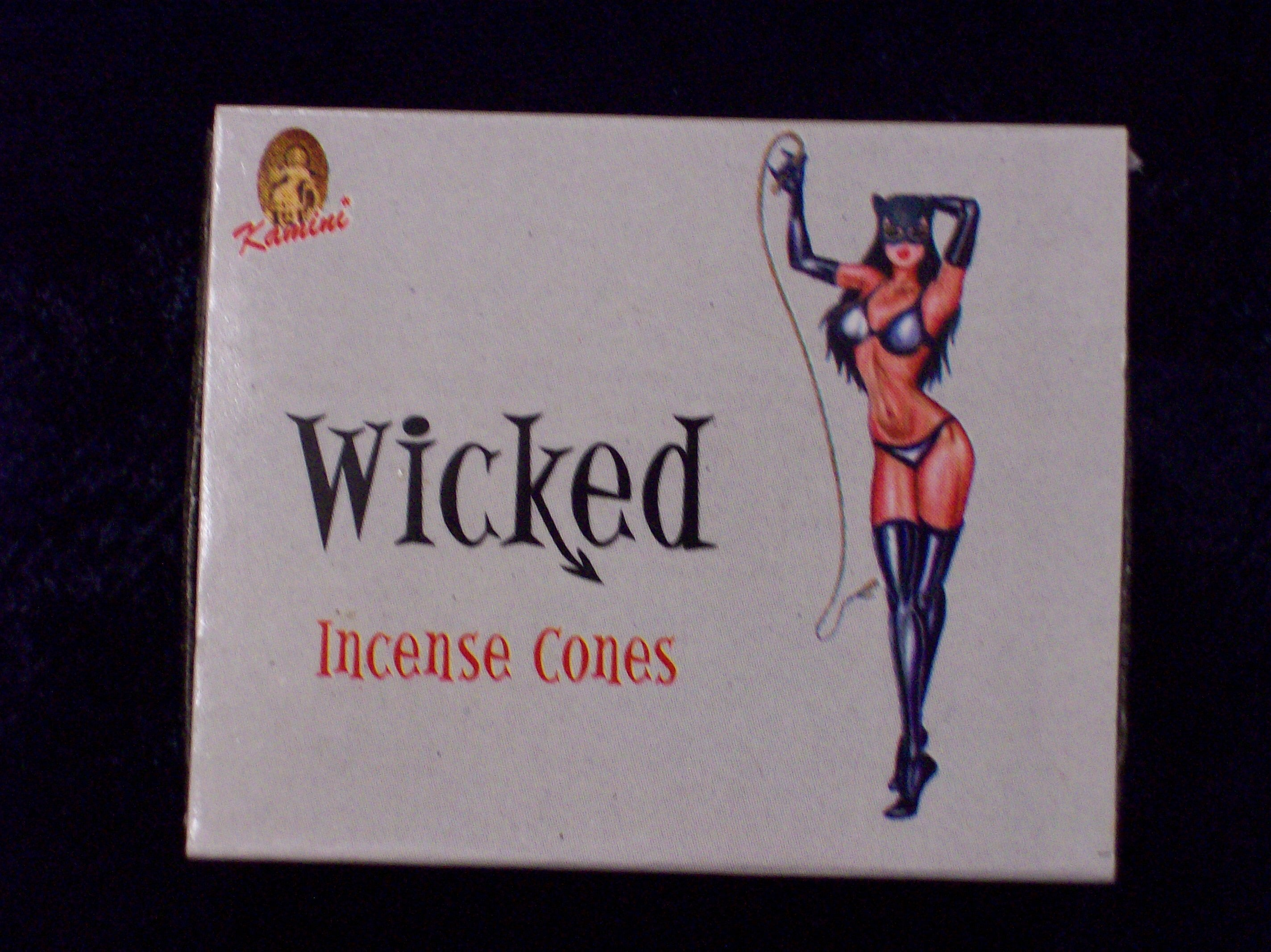 Wicked Incense cones - Mountain View Candle Works