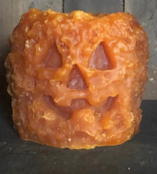 Jack-O-Lantern Flameless Candle