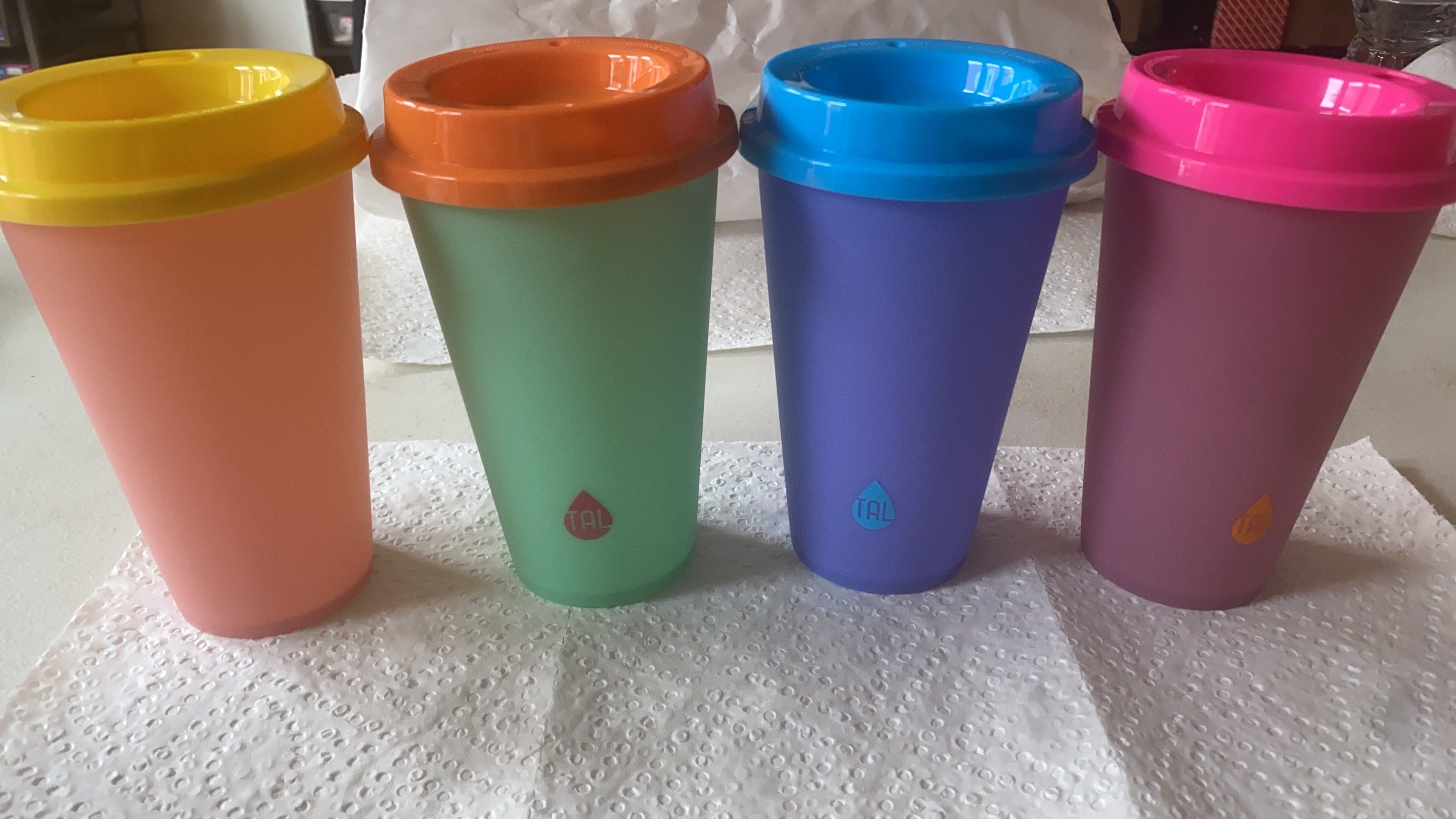 Coffee cup Color Changing Cups