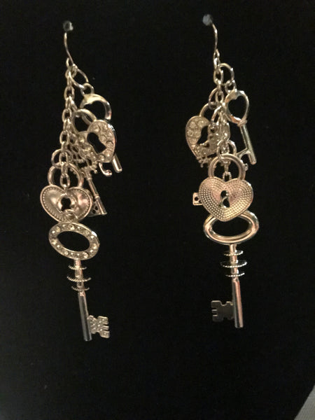 Key Earrings - Mountain View Candle Works