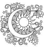 Dancing Moon Decal