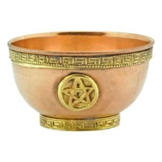 Pentacle offering bowl - Mountain View Candle Works