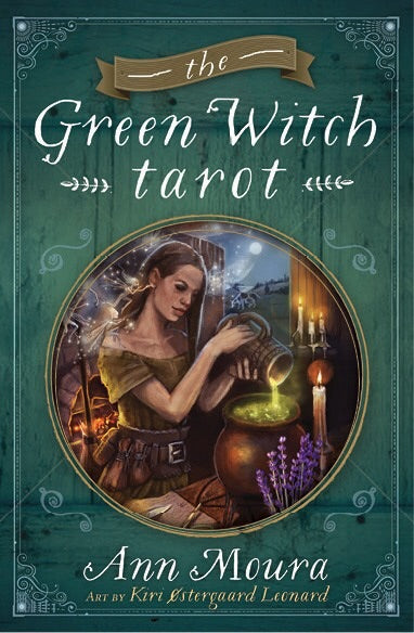 Green Witch tarot - Mountain View Candle Works