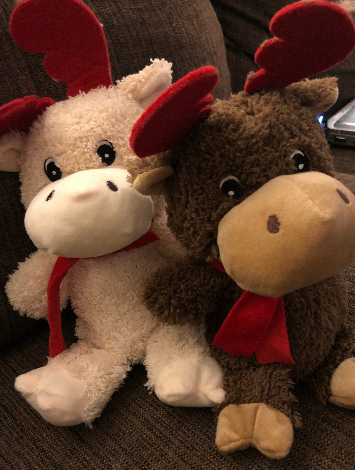 Customized Stuffed Reindeer