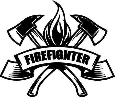 Firefighter Decal