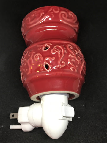 Red nightlight style warmer - Mountain View Candle Works