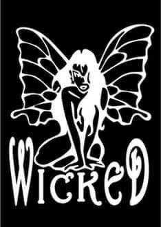 Wicked Fairy decal
