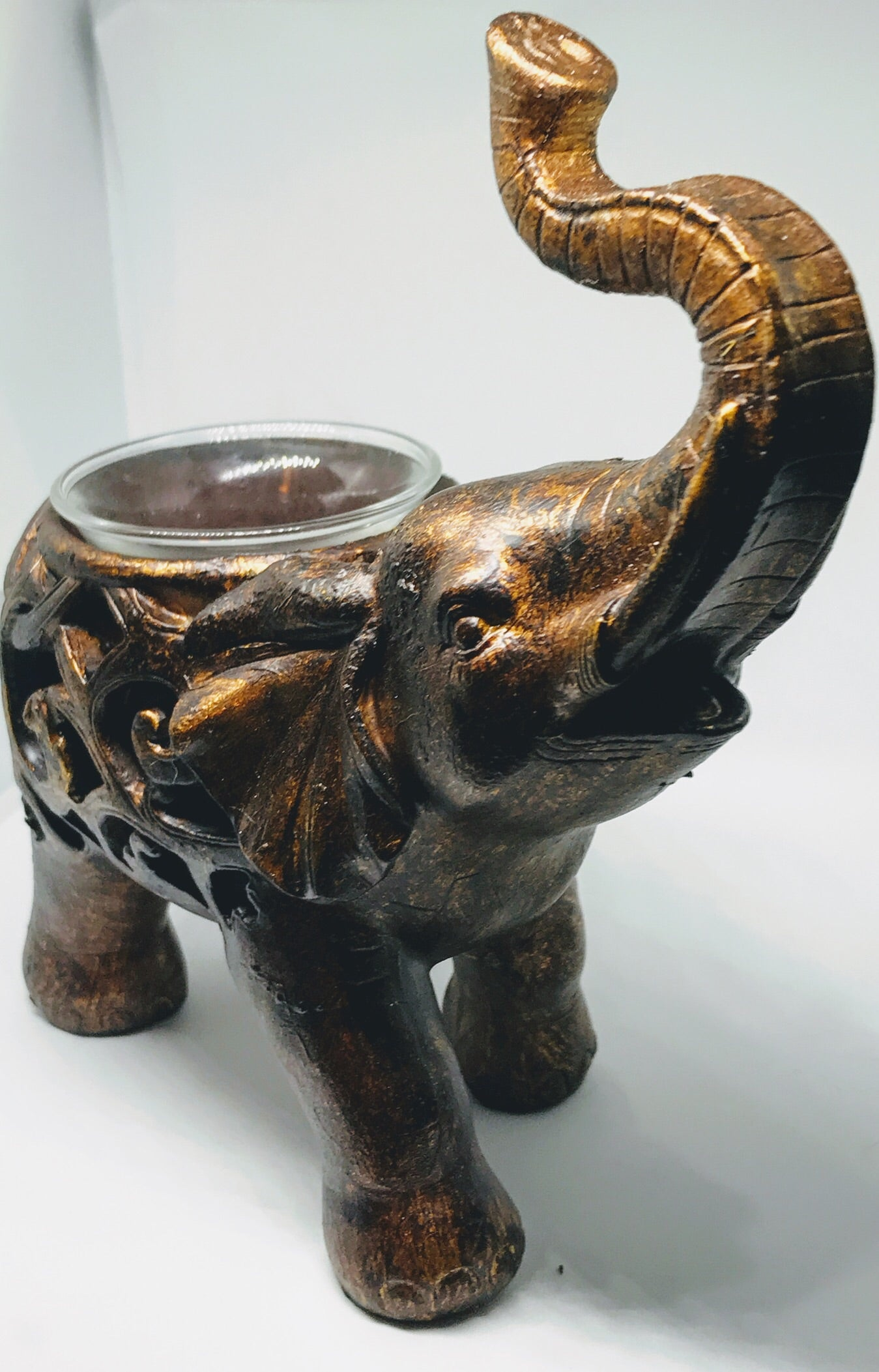 Elephant Votive holder