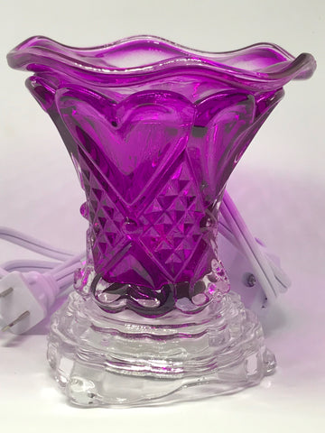 Purple Heart Fragrance Lamp