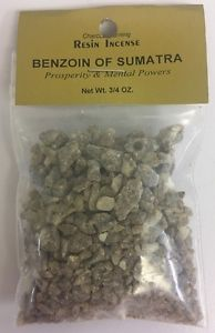 Benzoin of Sumatra - Incense Resin - 3/4 ounce - Mountain View Candle Works