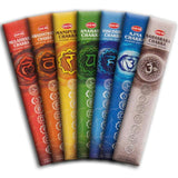 Hem Seven Chakra Incense Kit - Mountain View Candle Works
