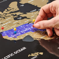 scratch map, scratchable map, scratch off map of the world, scratch off map poster, best travel map