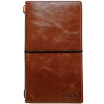 Best gift handmade genuine leather notebook for you relatives. Buy handmade leather journal or sketchbook. Order genuine leather travelbook