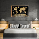 Want to buy scratchable map to decorate your home? Purchase one of our black scratch off world maps and you`ll do that! Sales price on our black travel maps and gold scratchable maps. All black scratchable maps and gold scratch off world maps are available on website