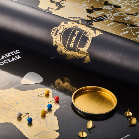 Searching for black and gold scratch off world map to buy? Purchase our black scratchable world map here. Discounted scratch off world maps - black or gold. All black travel maps and gold scratch maps available for purchase