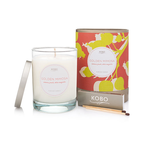 Golden Mimosa Candle