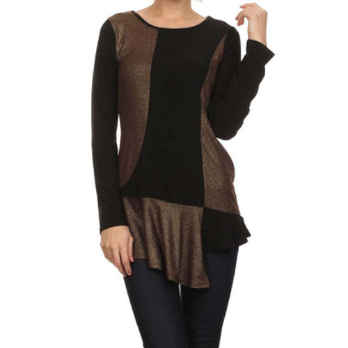 Black & Bronze Tunic
