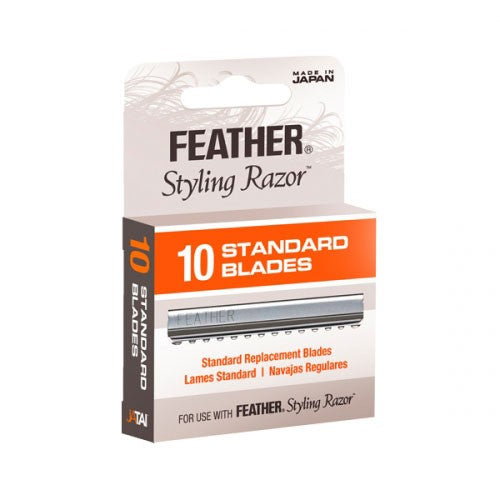 Feather Standard Guarded Razor Blades (10-Pack)