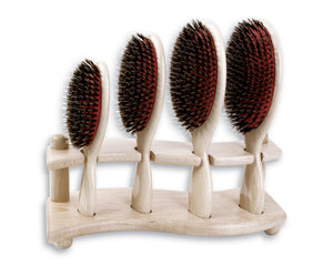 Krembs Wood-Handle Boar & Nylon Cushion Brush