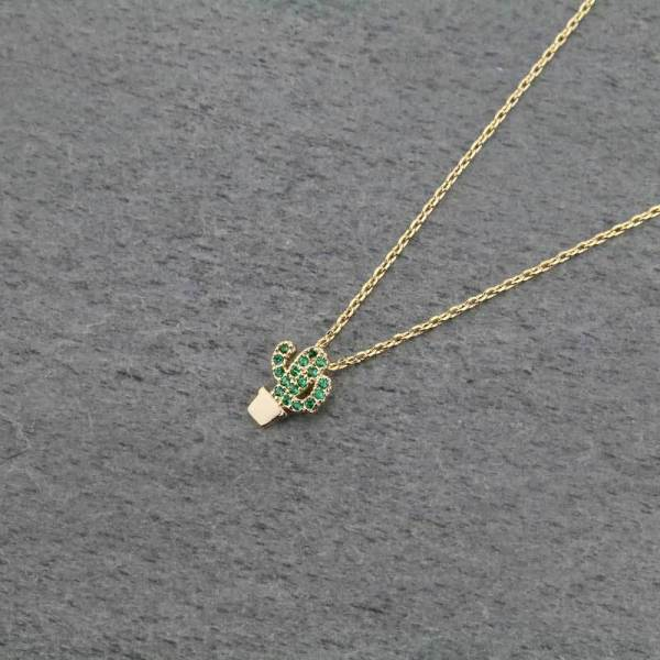 Petite Prickly Necklace
