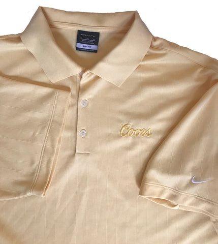 71a85b6a Coors Mellow Yellow Nike Polo XL – OgCoors