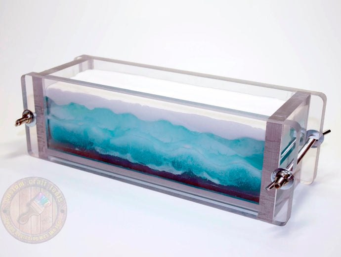 2-4 LBS MEDIUM Heavy Duty CLEAR Soap Mold