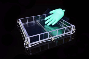 Clear slab soap mold with bottom liner solution 5-7LBS