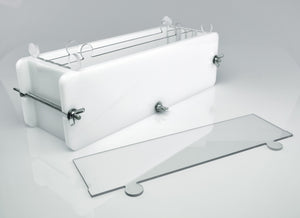 Soap mold with dividers