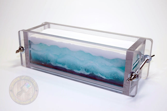 3-7 LBS LARGE Heavy Duty CLEAR Soap Mold
