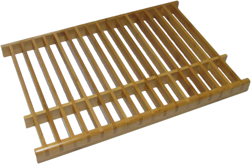 KitchenEdge™ Bamboo Over the Sink Dish Drying Rack