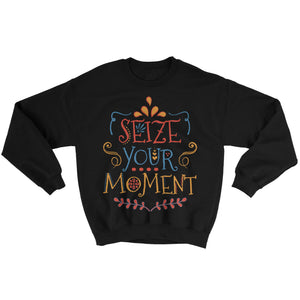 Disney Pixar COCO inspired Seize your moment slogan sweatshirt jumper