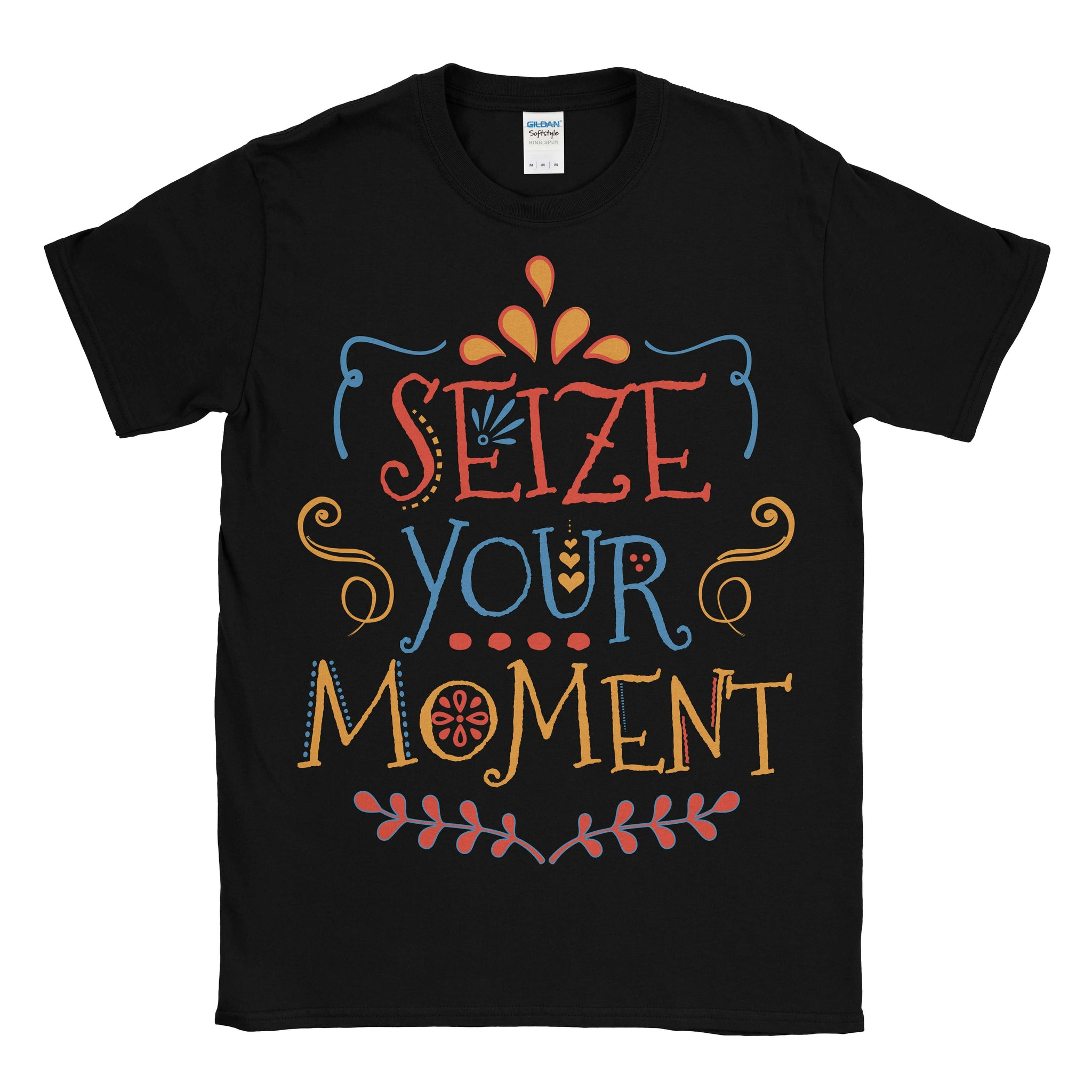 Disney Pixar COCO inspired Seize your moment slogan tshirt