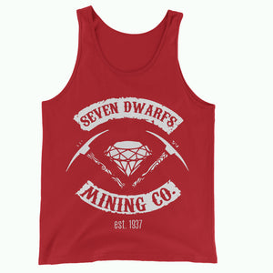 Red Seven Dwarfs Mining Co Tank Vest Top