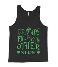 Friends on the Other Side Dr Facilier Inspired Green and Black Tank