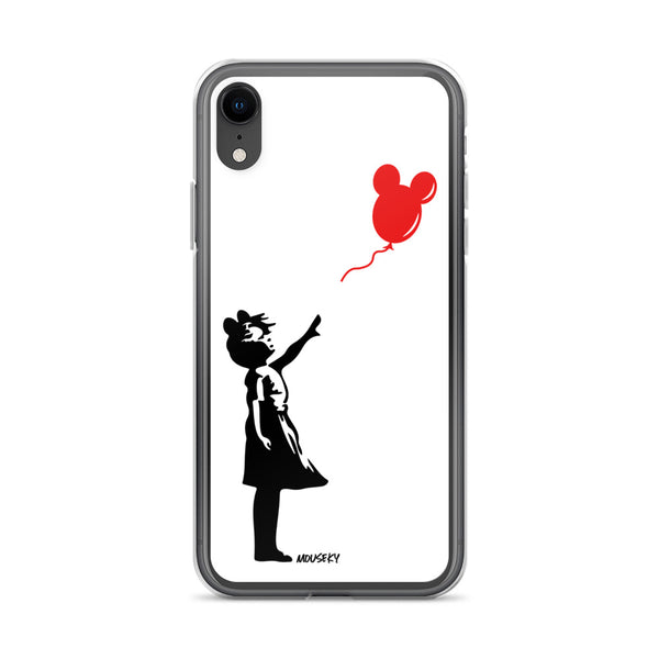 Mouseky Balloon Girl iPhone Case