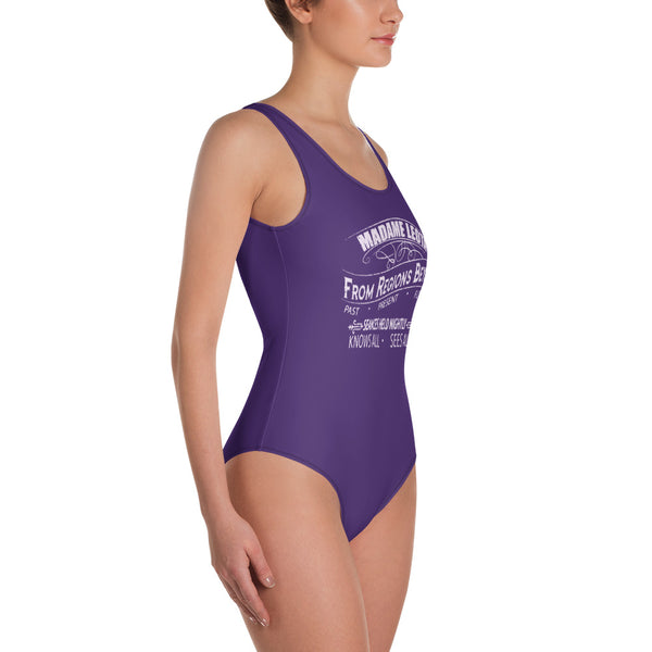 Madame Leota Purple Swimsuit